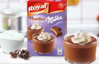 Reembolso natillas Milka
