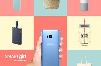Samsung sortea 10 SMART GIRL entre ellos el nuevo Samsung S8 ¡Es genial!