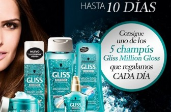 Sorteo champú Gliss Million Gloss